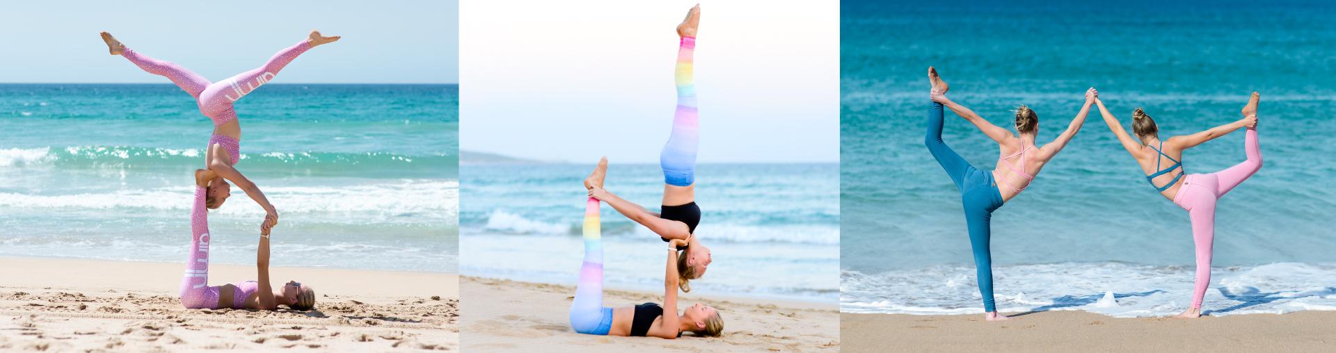 Acro Yoga Twins